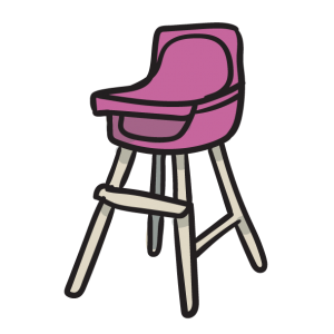 Icon High Chair