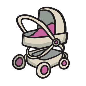 Icon Pram Friendly